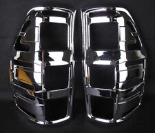FOR NEW FORD RANGER 2012 PICK UP CHROME REAR TAILLIGHT LAMP COVER TRIM