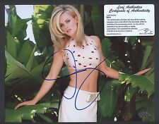 70014 Jenny McCarthy Signed 8x10 Photo AUTO LEAF COA