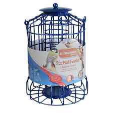 BIRD FAT BALL FEEDER SQUIRREL GUARD WIRE CAGE SQUIRREL PROOF PROTECTS SUET FEED