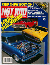 HOT ROD MAGAZINE VINTAGE 1982 SEPTEMBER CHARGER SS CHEVY FORD MOPAR GM RACING