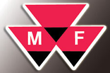 MASSEY FERGUSON SKI-WHIZ HOOD EMBLEM DECAL 1972 FORMULA IV -May fit other models