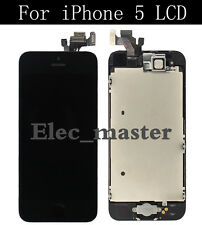 LCD Display Touch Digitizer Screen Assembly Replacement for iPhone 5 Black OEM