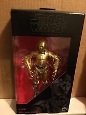 "STAR WARS: BLACK SERIES - ""C-3PO"" Action Figure 2016, NEW, Hasbro"