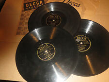 78RPM 3 Dick Haymes Decca, Little White Lies, Your Kiss, Hamkerin, Every Day V
