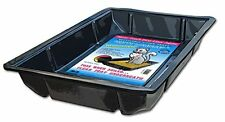 Argee Kitty Lounge LITTER TRAY, Disposable 50 Pack CAT LITTER BOX, Black