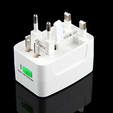 All in One International Travel Power Charger Universal Adapter AU/UK/US/EU~O#