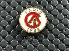 pins pin BADGE PARIS 1988 SIGNE A.B