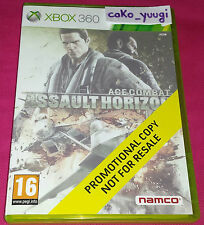 ACE COMBAT ASSAULT HORIZON XBOX 360 PROMOTIONAL COPY NOT FOR RESALE T.BON ETAT
