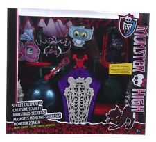 NEW OFFICIAL MONSTER CRYPT ACCESSORIES SECRET CREEPERS SET SCAREMESTER