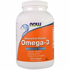 Now Foods Omega-3 - 500 Softgels