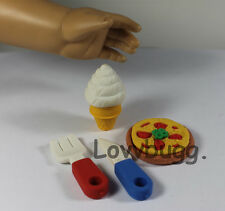 """Mini Meal Pizza for 18"""" American Girl Doll Food Accessories! Found Lovvbugg!"""