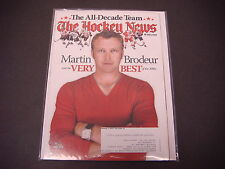 The Hockey News Magazine,Jan 11,2010,Martin Brodeur,The All-Decade Team