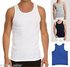 NWT Men's VINCE Brand Casual sport Ribbed Cotton Tank Top T Shirt