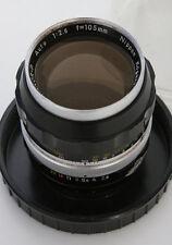 Nikon Nikkor-P 105mm f2.5 Lens Non AI Mount