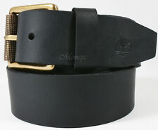 NWT TIMBERLAND Black Stylish! Genuine Leather Men's Belt Size 36 Gift! Deal