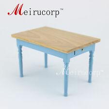 Dollhouse 1/12th Scale Miniature furniture Nice Table Drawer can be opened