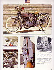 1915 Harley Davidson 11F Motorcycle Article - Must See !!