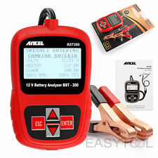 Car Battery Tester 12V Lead Acid AGM GEL Battery Analyzer Diagnostic Tool BST200