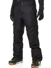 Neff Gnargo Snowboard Ski Pants Waterproof Men's L Large Vented Black NEW $140