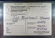 Camp Stalag VIIA Moosburg 1941 POW Prisoner France Kriegsgefangenenpost K53a