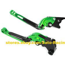 CNC Foldable Extendable Brake Clutch Levers For Kawasaki ZX636/ZX6RR 2005-2006