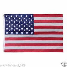 3x5ft usa brass grommets polyester Stars strips us american flag in/out door