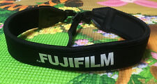 Black Adjustable Soft Neck Shoulder Strap For FUJIFILM FUJI Camera