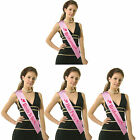Girls Night Out Hen Party Accessory Pink Sashes Bridesmaid Bride Wedding Sash