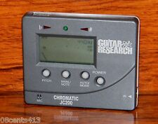 Guitar Research JC-200 Chromatic Tuner WIth Built -in Mic & 2 Tuning Modes