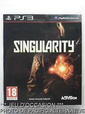 OCCASION: Jeu SINGULARITY ps3 playstation 3 sony francais guerre combat action