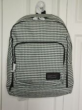 NEW Authentic Marc By Marc Jacobs Zig Zag Backpack, Black-White