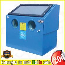 Lincos - Sabbiatrice professionale da banco 110 litri, LN-SBC110