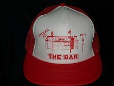 trucker hat baseball cap STOLEN AT THE BAR retro rare rave cool style nice