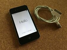 Apple IPhone 4 16gb Black O2 *Relist Due To Timewaster*