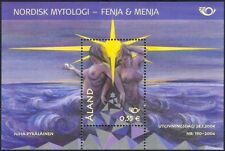 Aland 2004 Nordic Myths/Legends/Mermaids/Giantesses/Women/Naked/Nude m/s n14936