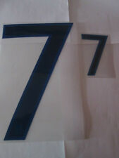 no 7 Big and Small England Home Football Shirt Name Set Numbers only Sporting ID