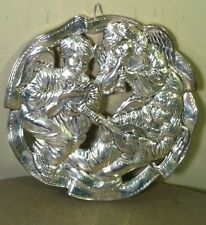 Holiday Collection by Godinger Cherub Trivet Angels Christmas Silver Plated Wall