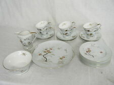 C4 Porcelain Noritake Art Deco Pale Green Tea Service (21 pieces no teapot) 4C7C