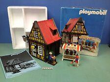 (O3455) playmobil maison du potier chateau médiéval ref 3666 3455