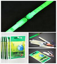 50Stk Kreative Nacht Neonlicht Stick Leuchtstab 4,5 * 37mm Fischen Werkzeuge Hot