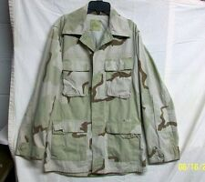 *XSALE U.S. AIR FORCE 1999 DESERT CAMO COMBAT SHIRT COAT - PATCHES REMOVED / S-L
