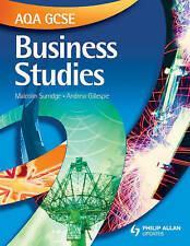 AQA GCSE Business Studies Textbook by Andrew Gillespie, Malcolm Surridge...
