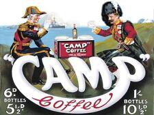Camp Coffee,Armee & Marine,Streitkräfte,Küche Café,Alt Werbeanzeige