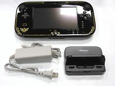 Wii U GamePad with Stand & AC Adapter - Zelda Edition  *TESTED AND WORKING*