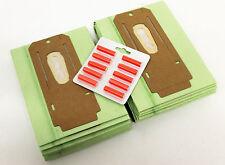 10 oreck papier poussière sacs & 10 rose désodorisant pellets GLM20357 x 2 & fresh 1R