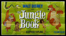 THE JUNGLE BOOK - WALT DISNEY - ORIGINAL AMERICAN 30SHT BILLBOARD MOVIE POSTER