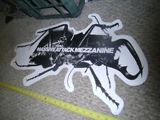 "MASSIVE ATTACK Huge Promo Poster for MEZZANINE 29"" X 15"" VERY RARE"