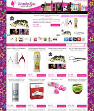 Beauty Products Store - Make Money with eBay, Amazon, Commission Junction