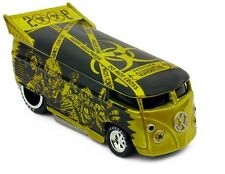 (F) Hot Wheels Liberty HALLOWEEN Series ZOMBIE VW Drag Bus ONLY 1300 Made FEMA !