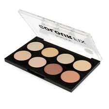 Technic color Fix Compacto Rostro Contorno Paleta 8 en 1
